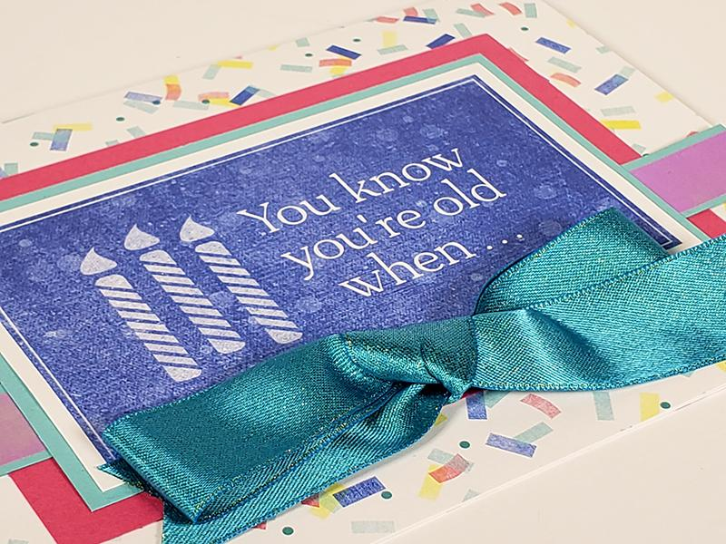 Confetti Cards - Add some joy to the mailbox!