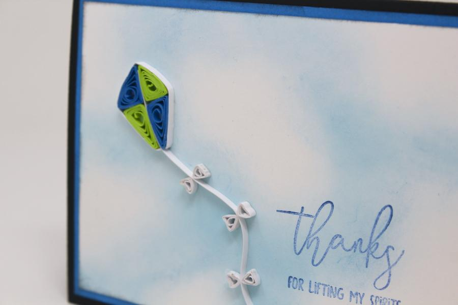 Quilled Kite tutorial - Reach for the sky!