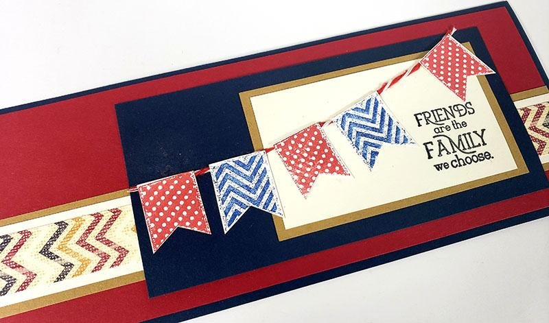 Standing Box Cards featuring Vintage Americana