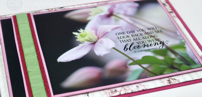 Peony Photo Card - A picture is worth a thousand words.