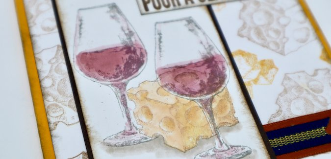 Wine Time and Say Cheese Stamps - The perfect pairing!