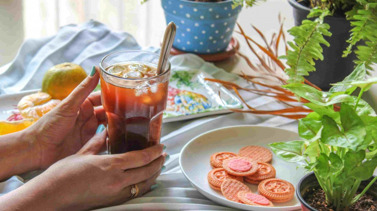 Beat the heat guilt-free with this Iced Coffee Recipe