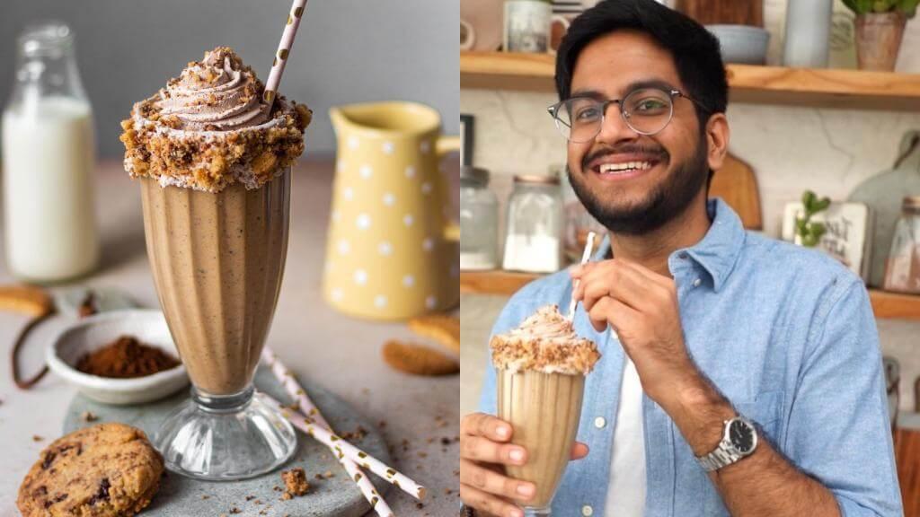 Insta-famous Baker Shivesh's Trending Vanilla Cookie Shake