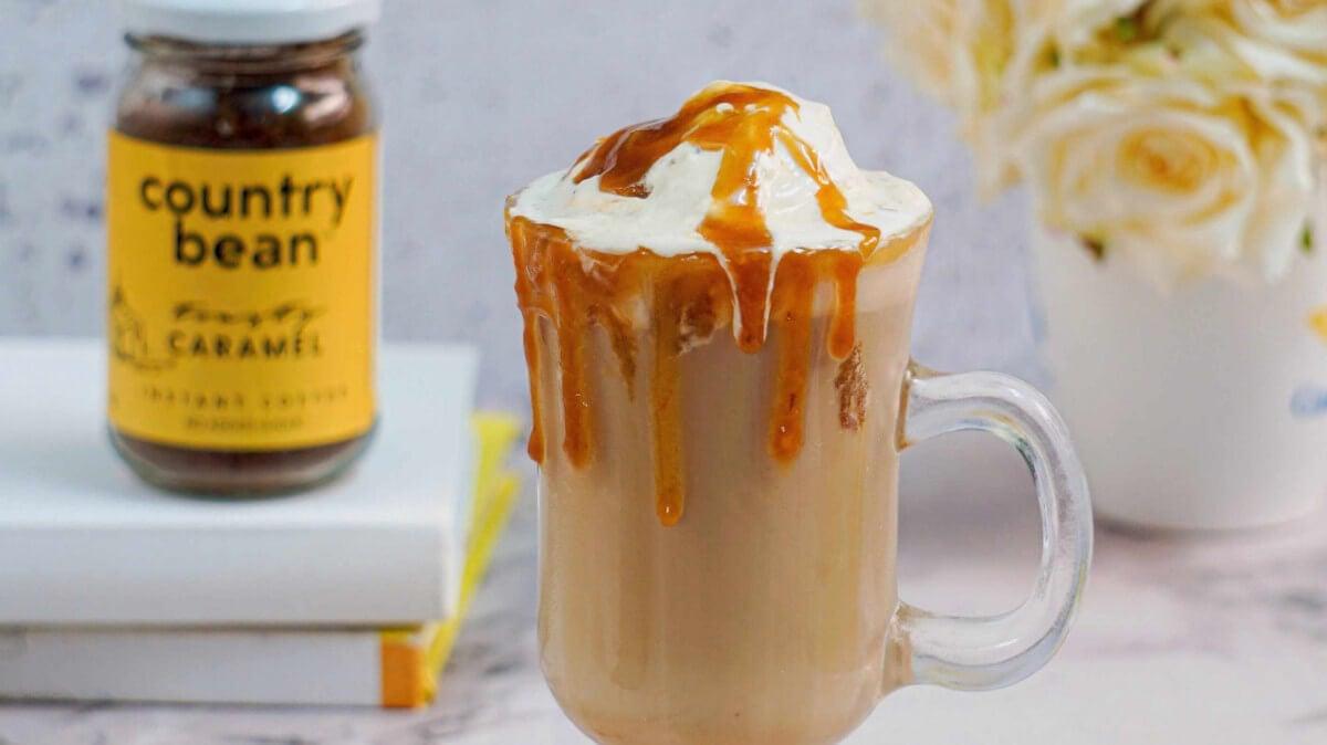 Butterscotch caramel coffee: the sweetest escape!