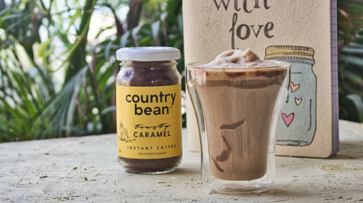 The BEST ever Caramel Frappe recipe you'll find