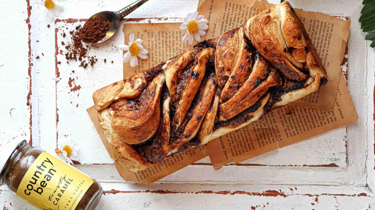 Coffee infused chocolate babka recipe