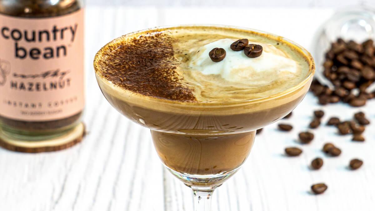Let's make some Chocolate Coffee Martini!