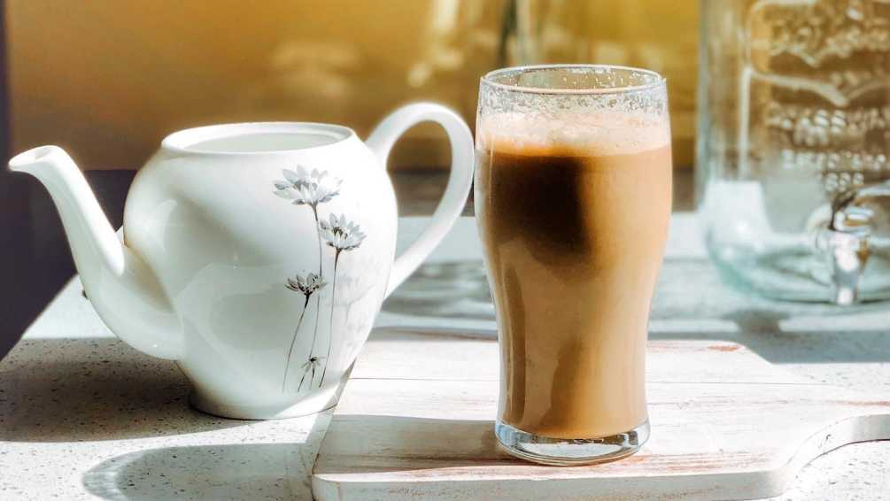 The Frothiest Cold Coffee Ever!