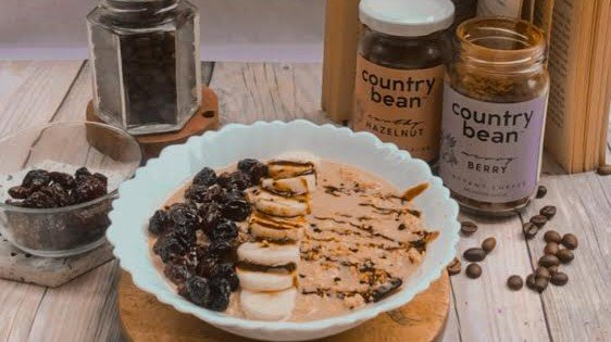 This Coffee Oatmeal will give you a wake up call