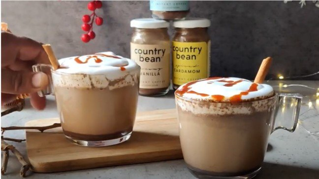 Who doesn't love a Salted Caramel Mocha at home?