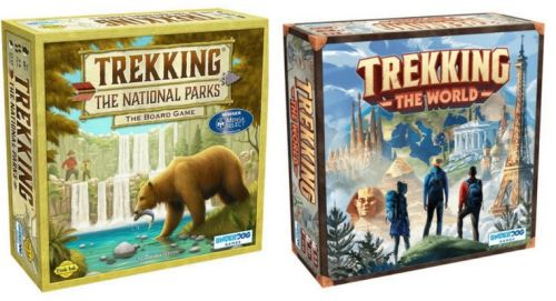 Adventure Board Games: Trekking the World and Trekking the National Parks