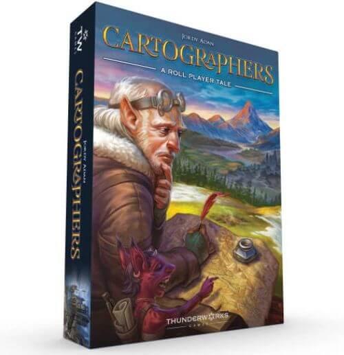 Adventure Board Games: Cartographers box