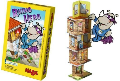 Best Board Games for 6 Year Olds: Rhino Hero