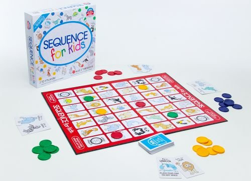Best Board Games for 6 Year Olds: Sequence for Kids