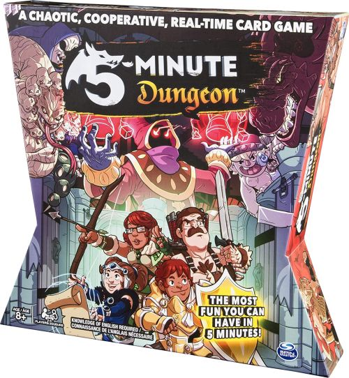 Board Games for Teens: 5-Minute Dungeon