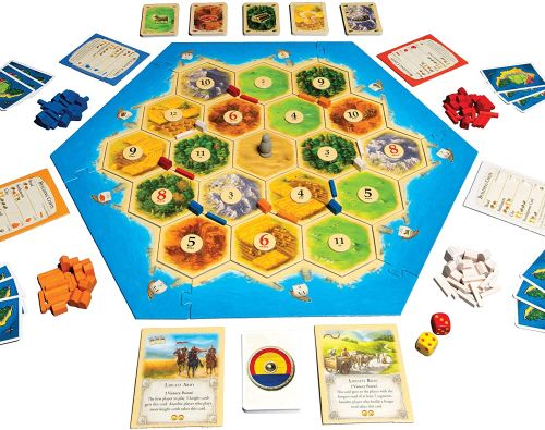 Board Games for Teens: Catan