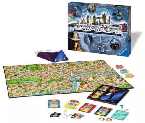 Board Games for Teens: Scotland Yard