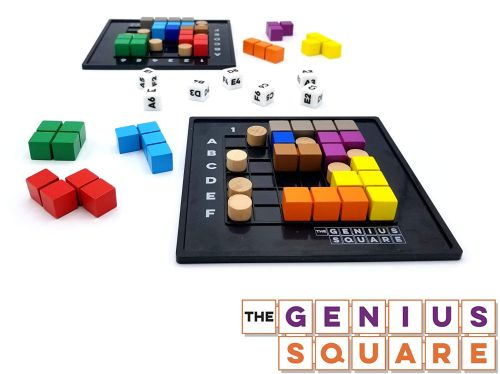 Board Games for Teens: The Genius Square