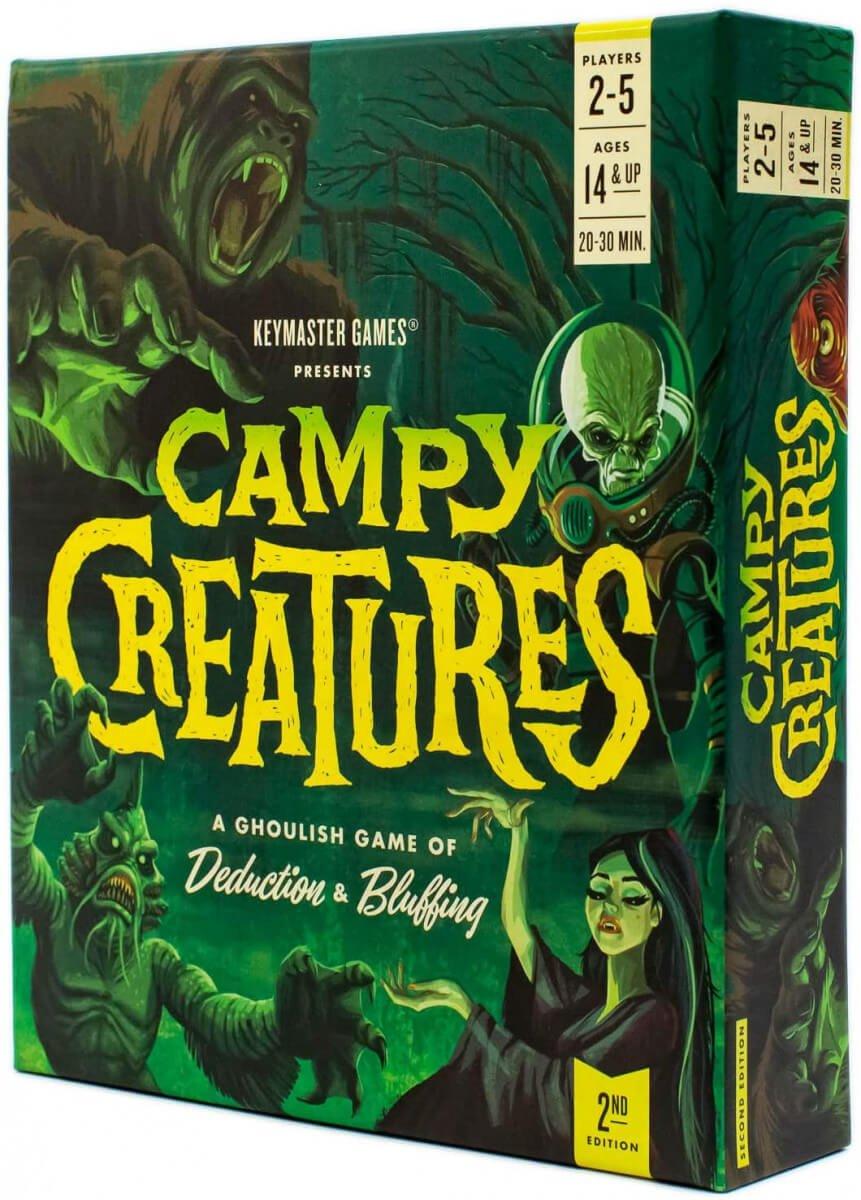 best horror board games campy creatures