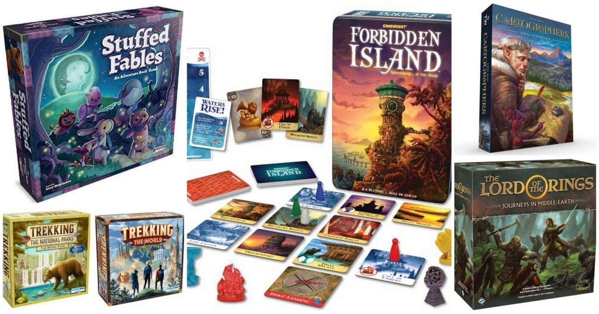 Discover Exciting New Worlds With These Adventure Board Games