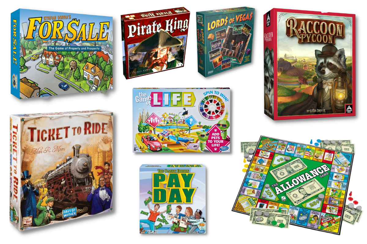 Games Like Monopoly for Those Who Love to Wheel and Deal