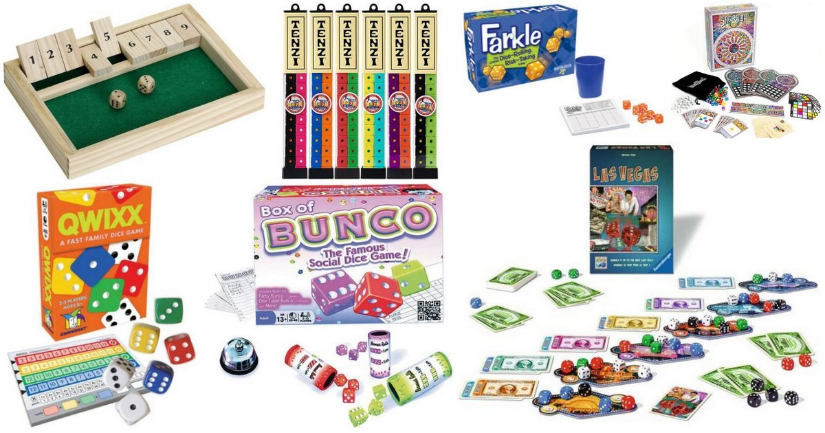 These Top 10 Favorite Dice Games Will Get the Fun Rolling