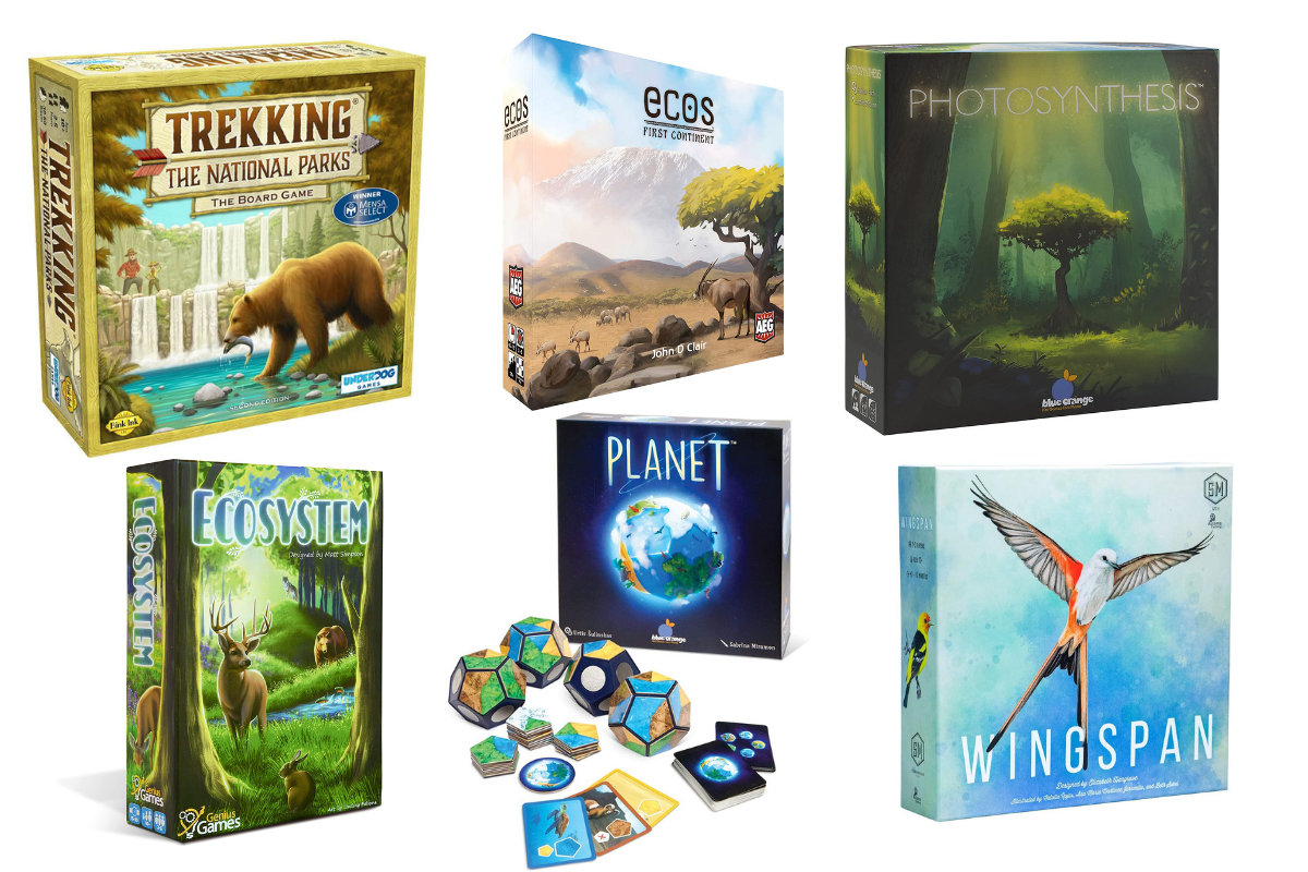 6 Great Board Games to Celebrate Our Planet