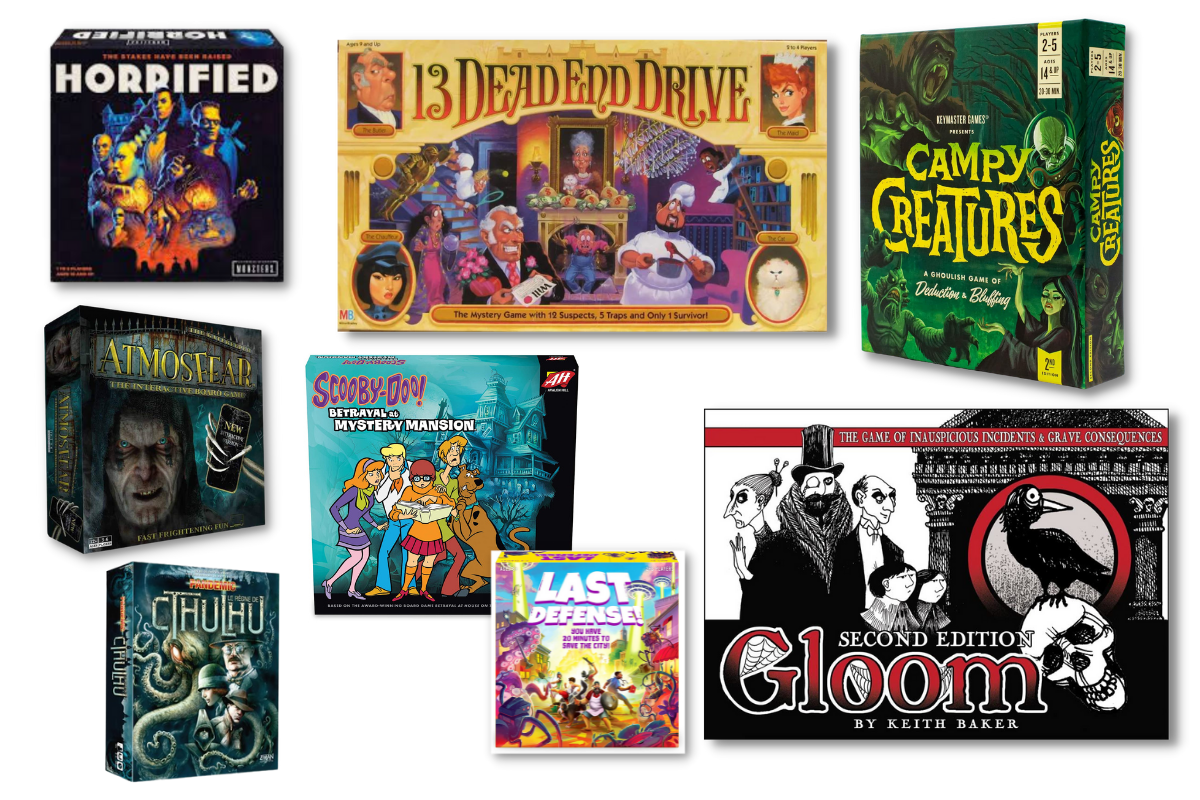8 of the Best Horror Board Games to Play with Friends