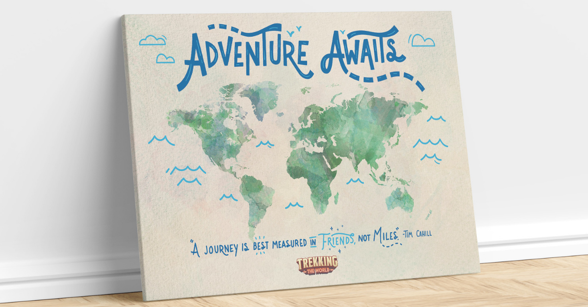 Free World Map Poster to Celebrate Travel
