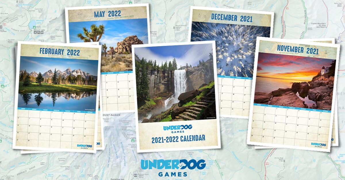 National Parks Calendar to Celebrate Our Public Lands