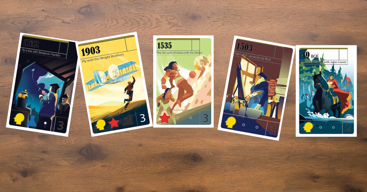 We Have a New Game in the Works—Trekking Through History