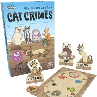 Mystery Games Like Clue: Cat Crimes