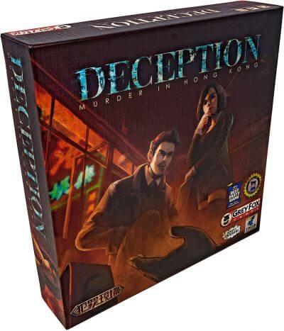 Mystery Games Like Clue: Deception: Murder in Hong Kong