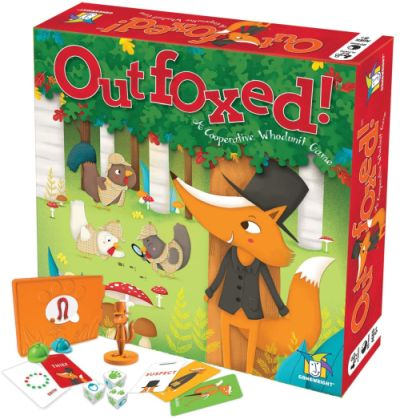 Mystery Games Like Clue: Outfoxed!