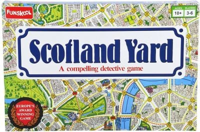 Mystery Games Like Clue: Scotland Yard