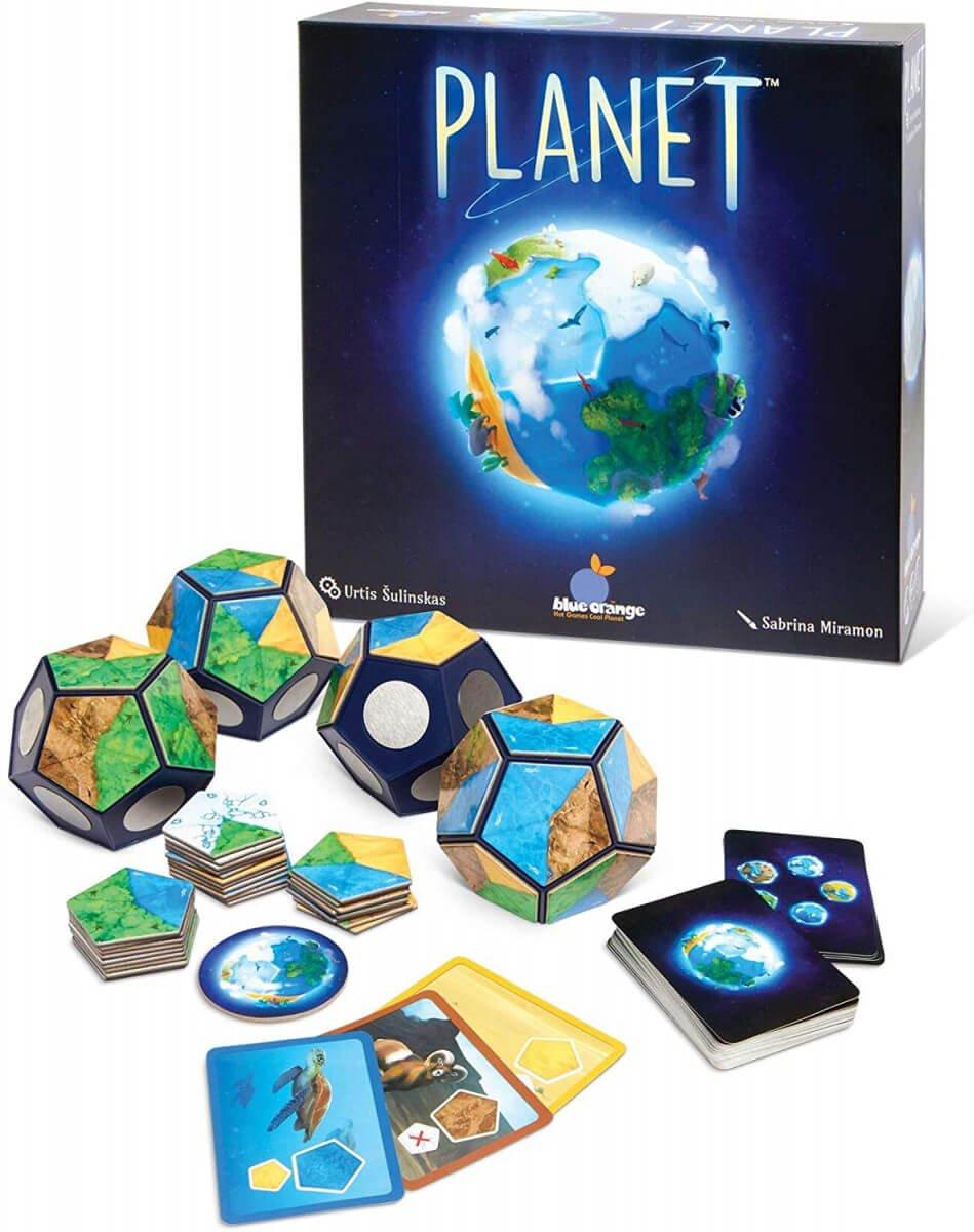 planet board game - trekking