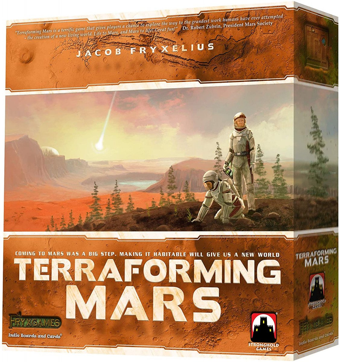 space board game - transforming mars