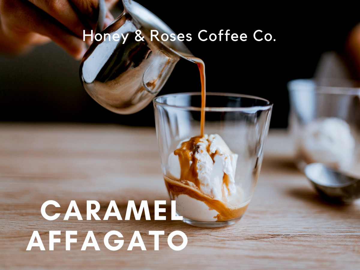 Salted Caramel Date Affogato