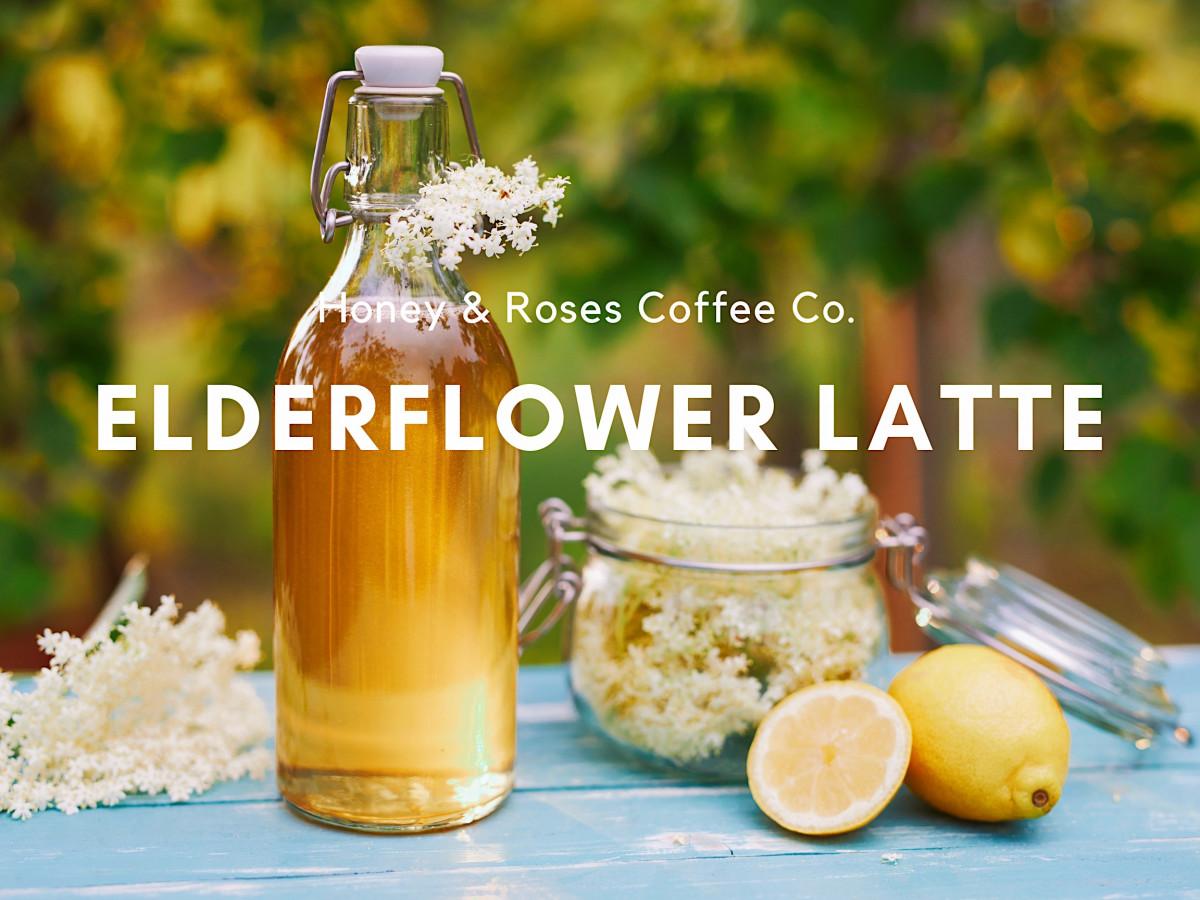 Elderflower Latte