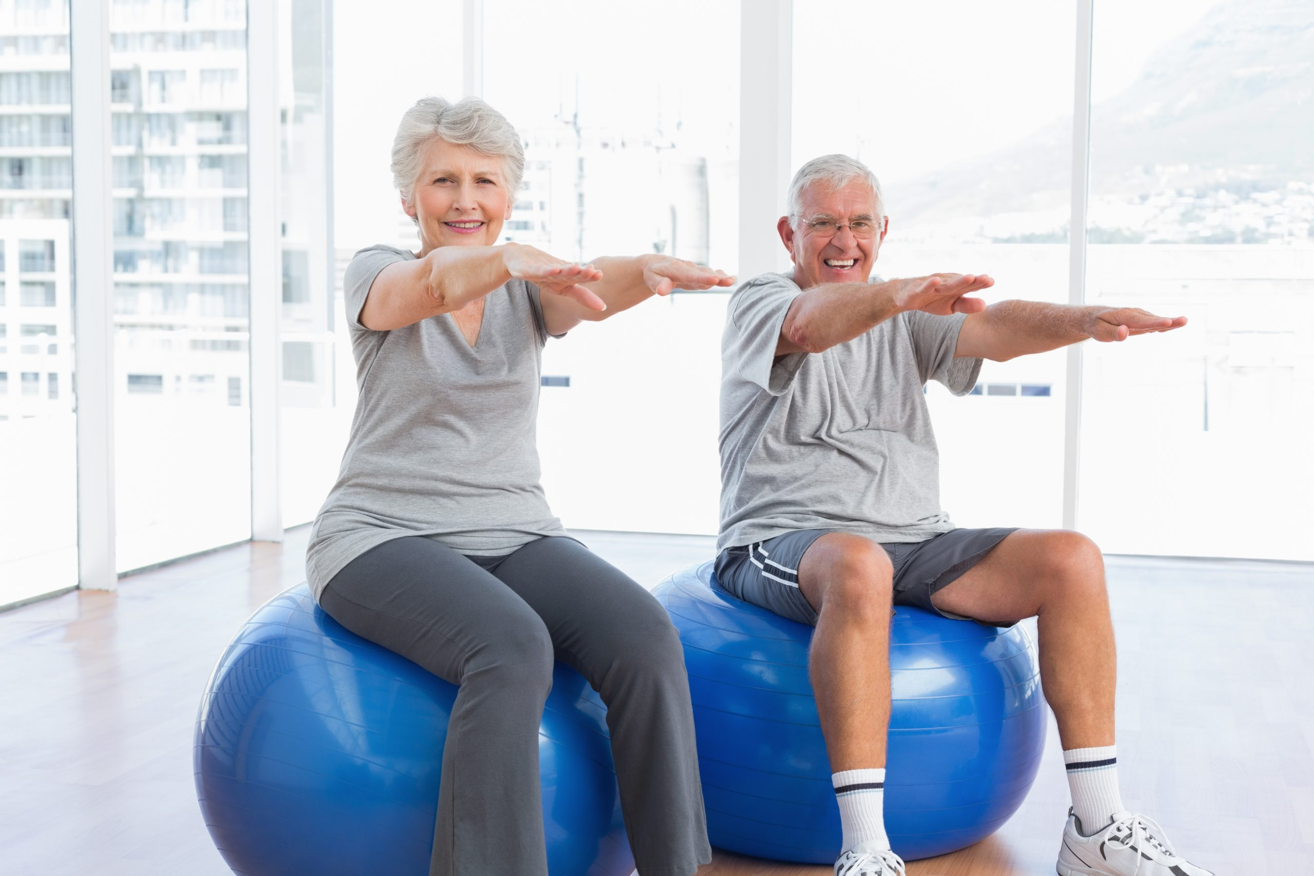 Top 5 Gym Ball Stability Moves For Over 60s