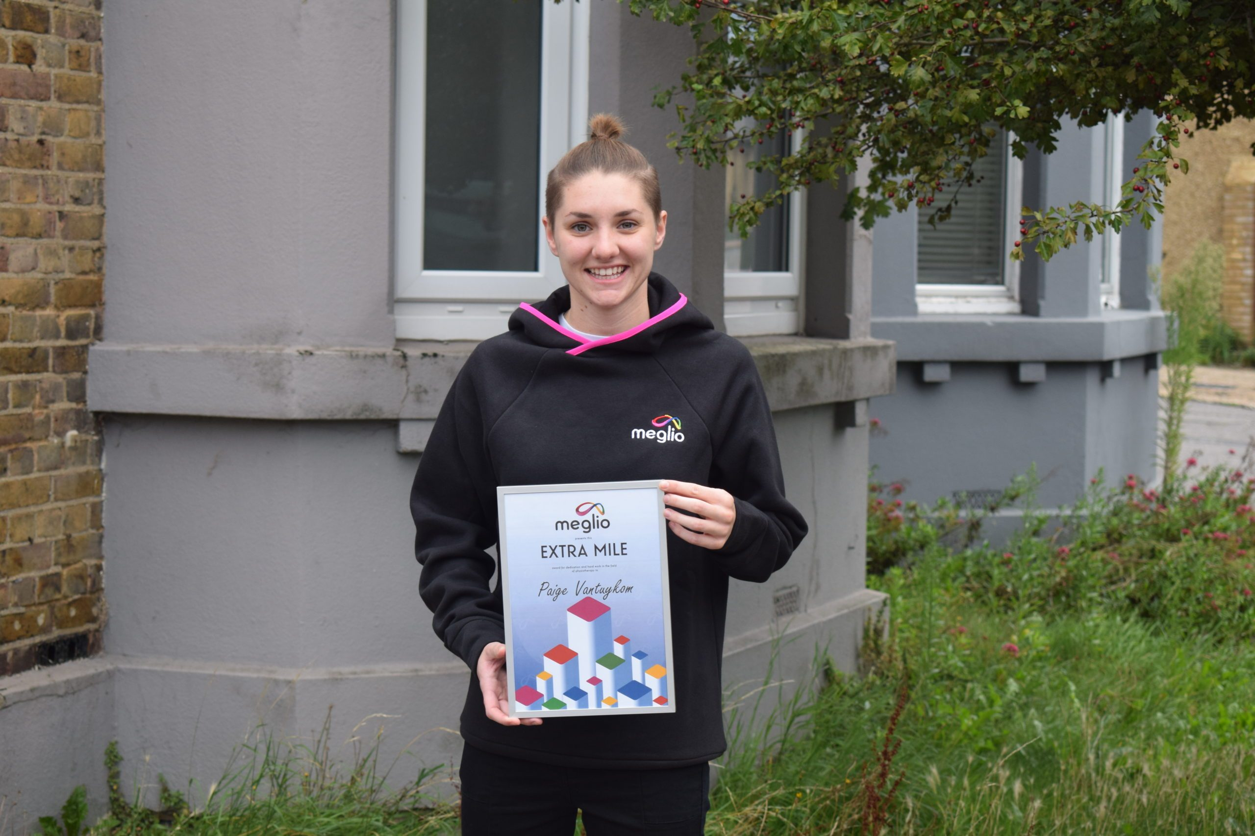 World Physiotherapy Day - Going The Extra Mile Award!