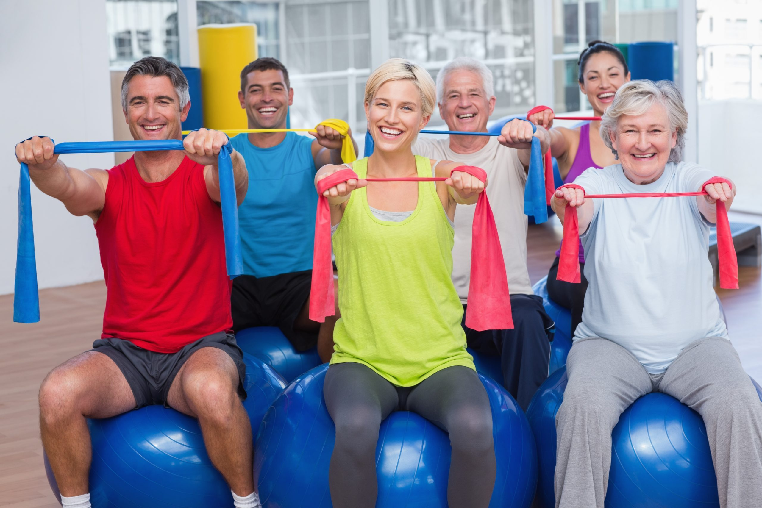 Top 5 Moves With Resistance Bands For Over 60s