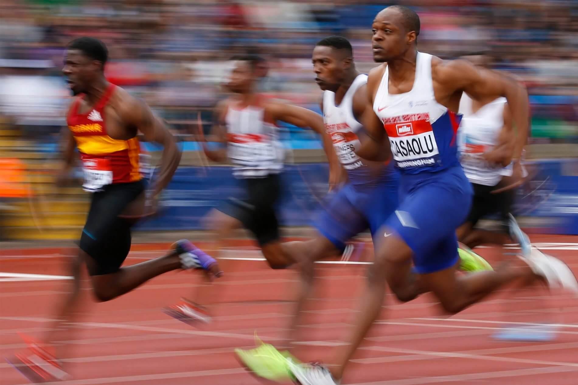 James Dasaolu Back on Track