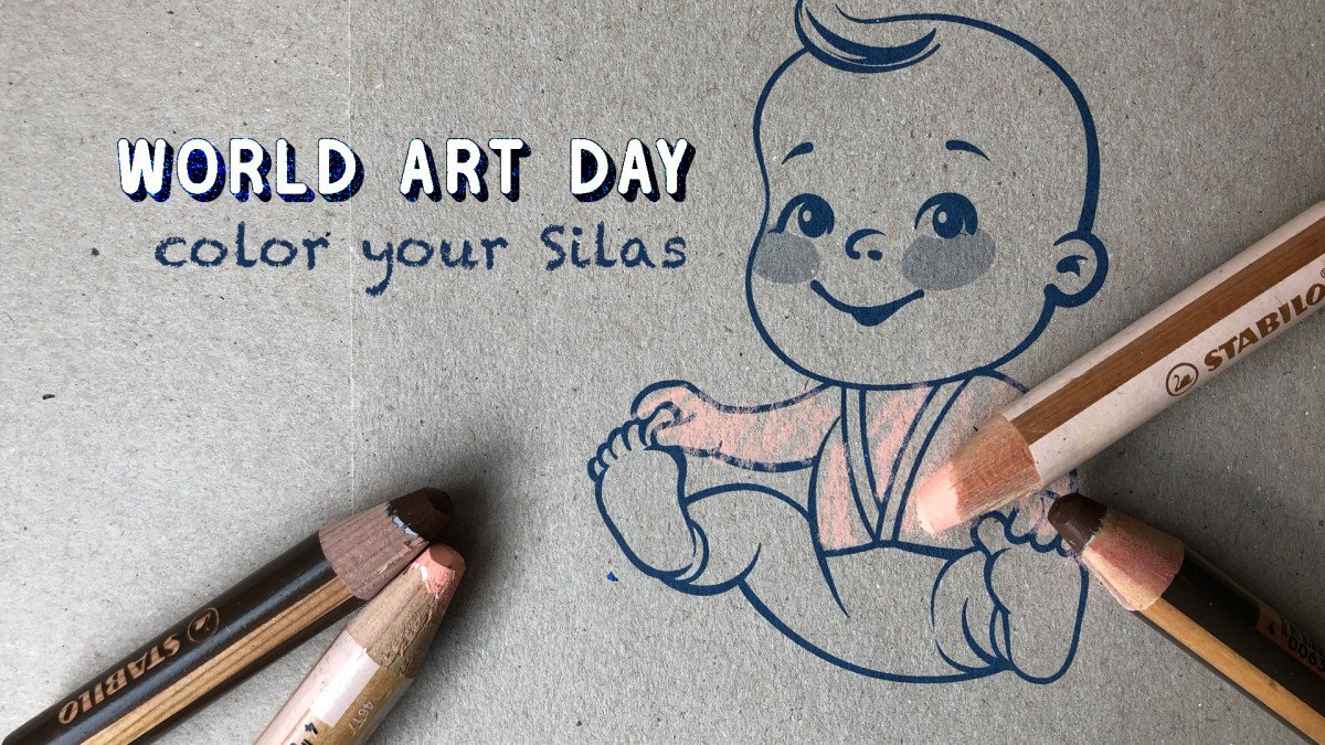 Color Your Silas - World Art Day 2021