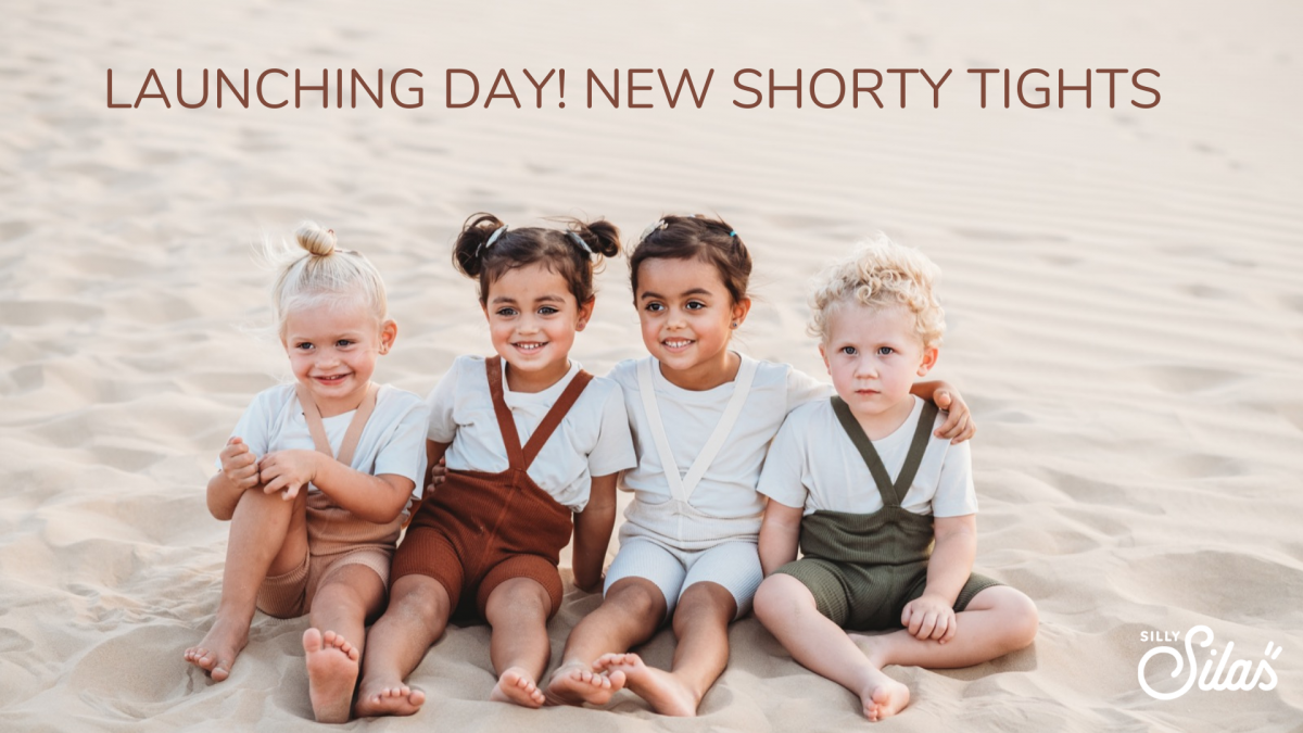 Launching Day!New Shorty Tights #sillysilas