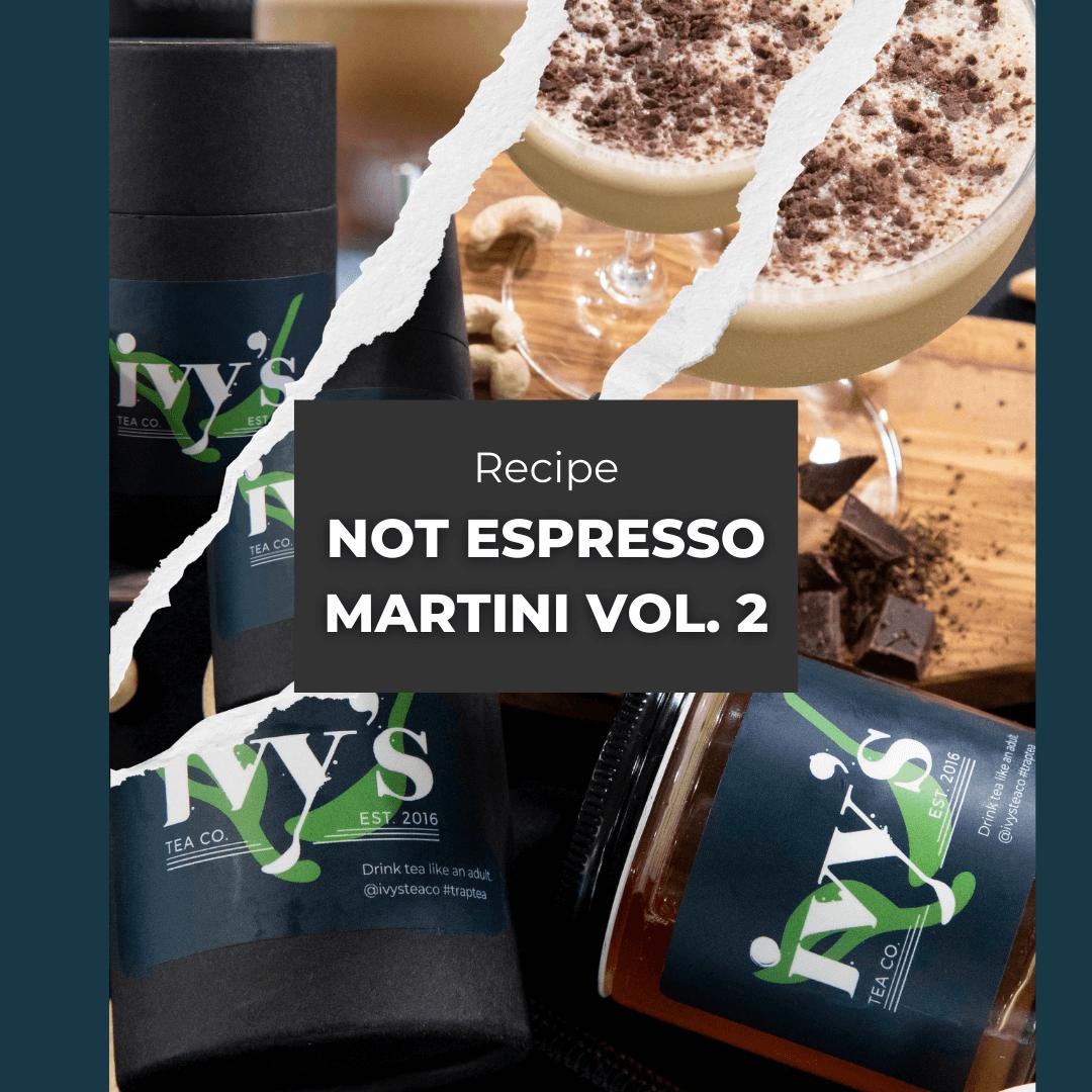 Recipe: Chicory Root Tea Martini with Vanilla Honey
