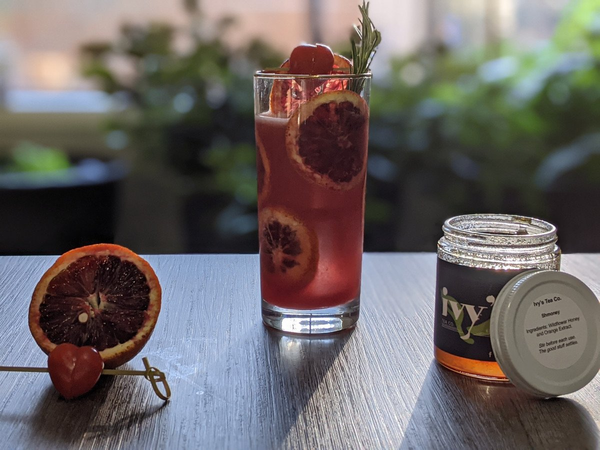 Shmoney Records: Raspberry Orange Cocktail Recipe