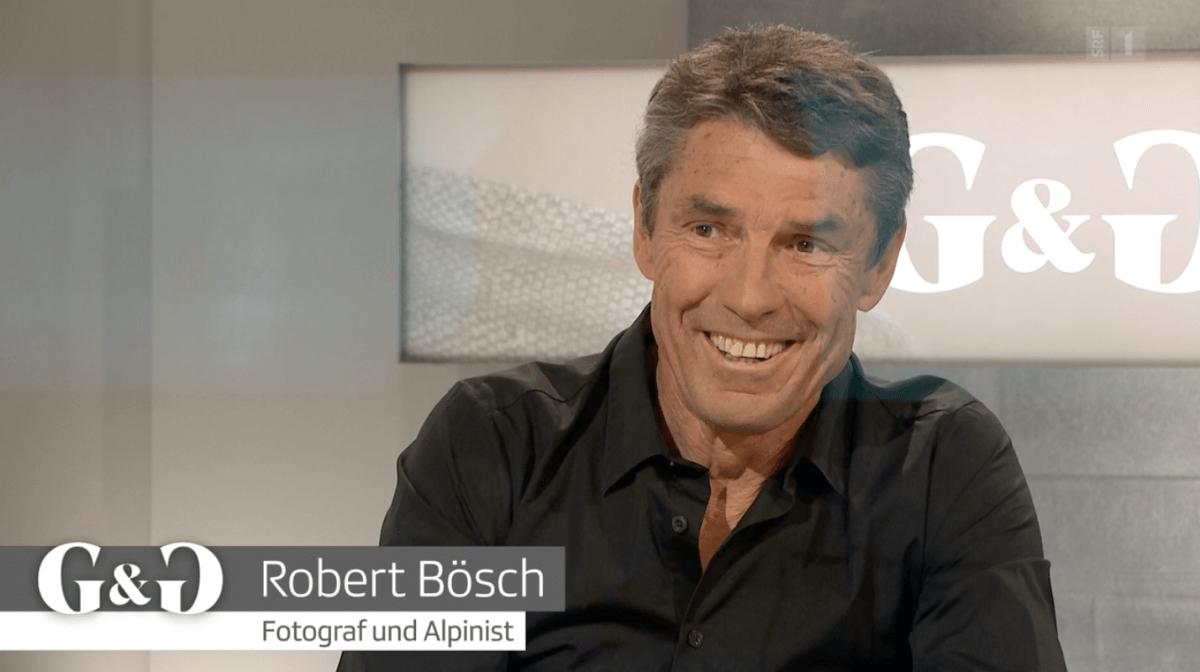 Robert Bösch live talk on SFR 1