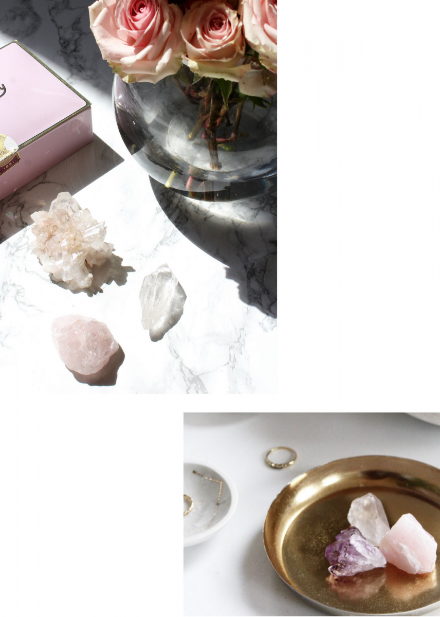 Crystal guide lifestyle shots