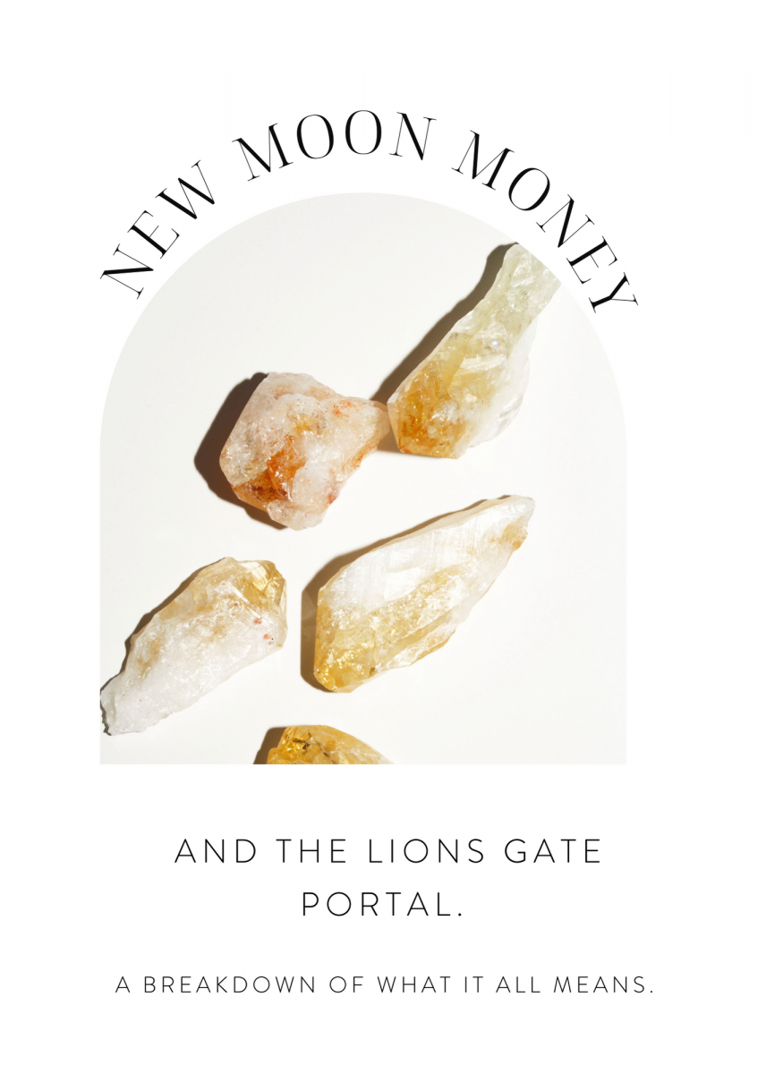 LIONS GATE PORTAL AND NEW MOON MONEY